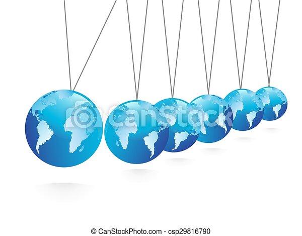 Balancing spheres - csp29816790