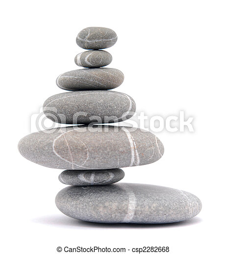 balancing stones - csp2282668
