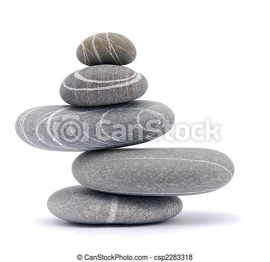 balancing stones - csp2283318