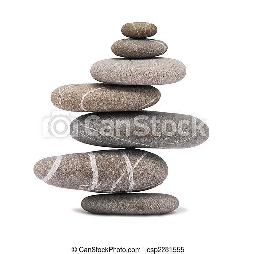 balancing stones - csp2281555