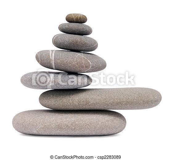 balancing stones - csp2283089