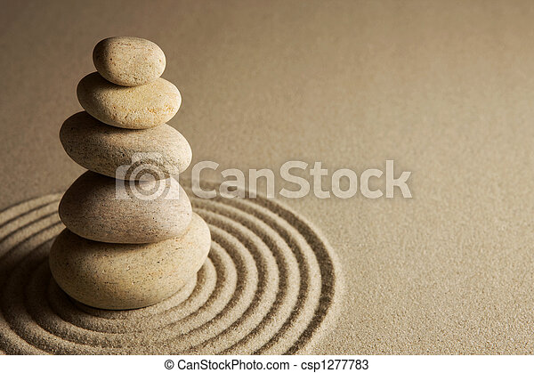 Balancing stones  - csp1277783