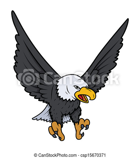 bald eagle vector illustration vectors illustration search clipart rh canstockphoto com bald eagle vector art bald eagle vector free download