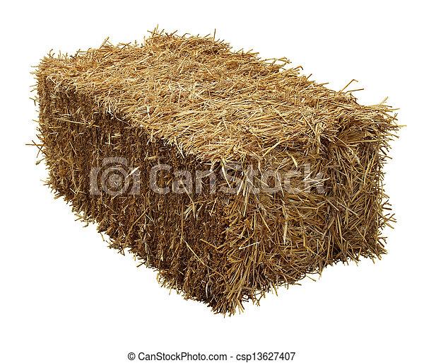 Bale Of Hay - csp13627407