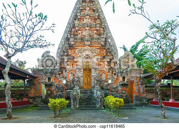 Bali temple complex - csp11618465