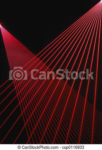 balken, laser, rood - csp0116933