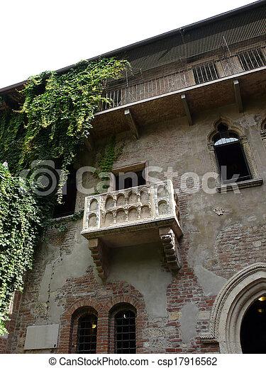Balkon Romeo Juliet Verona Italy Romeo Beruhmt Juliet Balkon