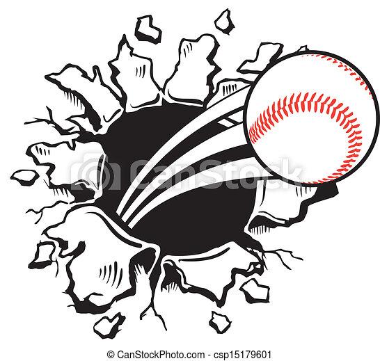 Ball Busting wall - csp15179601