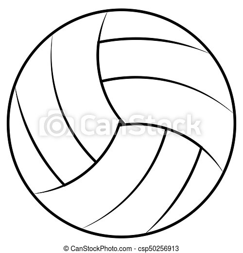 ball for playing beach volleyball vector volleyball ball vector rh canstockphoto com volleyball vector file volleyball vector clip art free