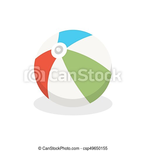 Ball. Icon on isolated background - csp49650155