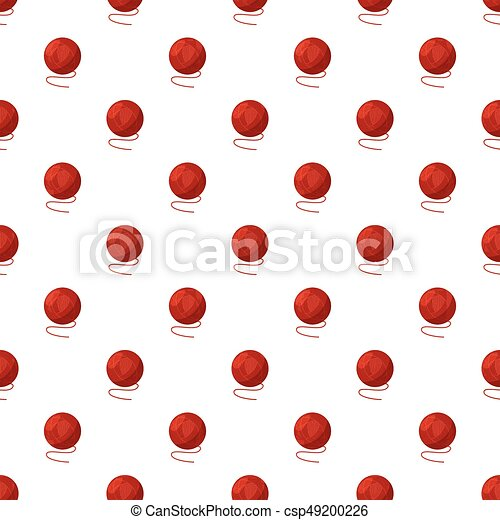 Ball of yarn pattern - csp49200226