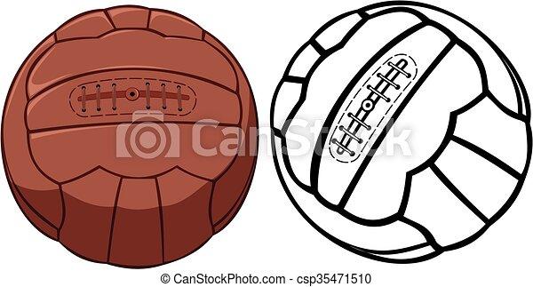 ball soccer or football vintage or old school vector soccer goal clip art black and white soccer goal post clipart