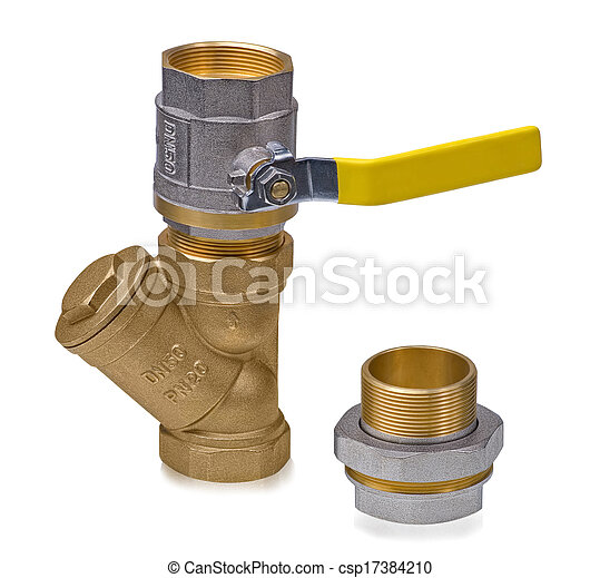Ball valve with filter and deep cleaning hygienic squeegee - csp17384210
