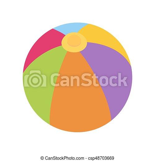 Ball vector illustration - csp48703669