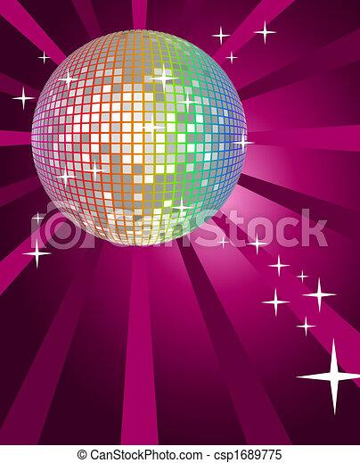 balle, disco - csp1689775
