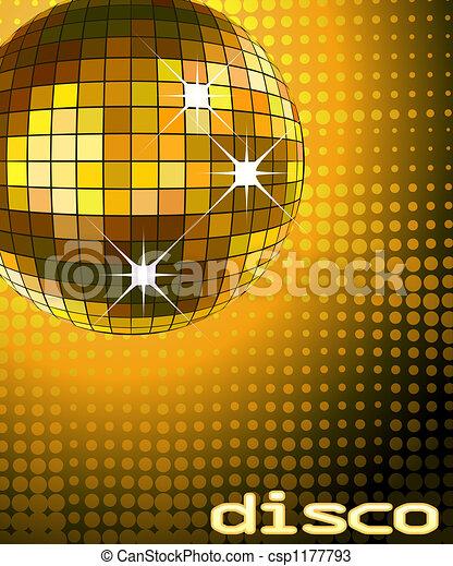 balle, disco - csp1177793