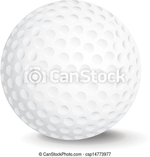 balle, golf - csp14773977