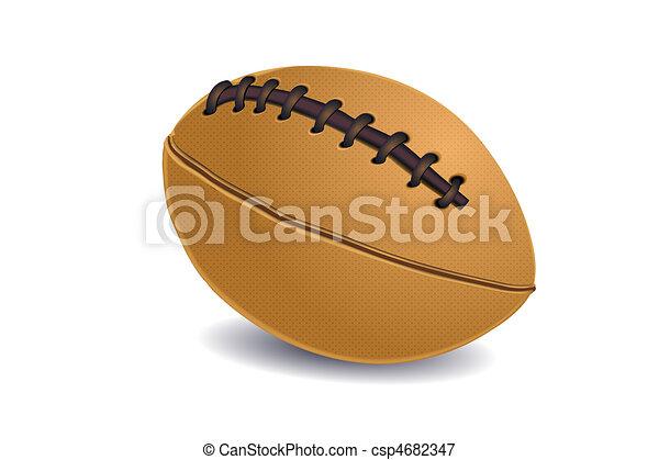 balle, rugby - csp4682347