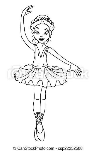 Ballerina - csp22252588