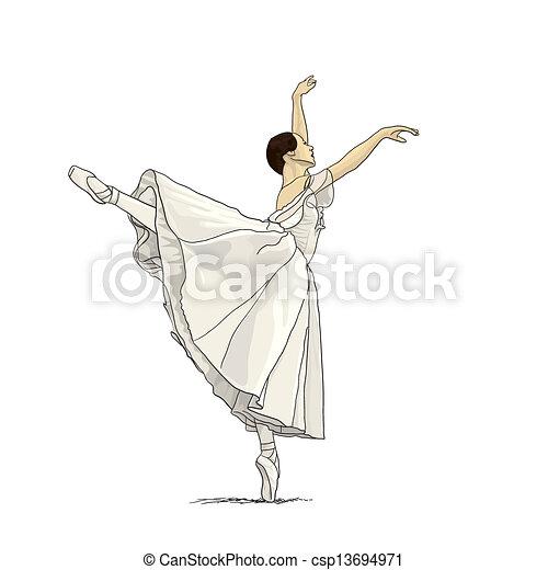 Ballerina - csp13694971