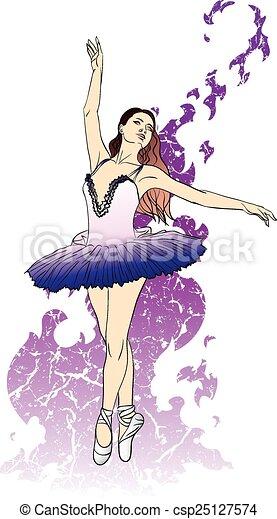 Ballerina - csp25127574