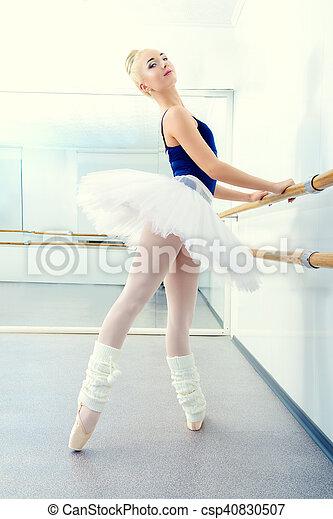 ballerina in tutu - csp40830507