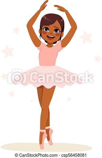 Ballerina Pink Tutu - csp56458081