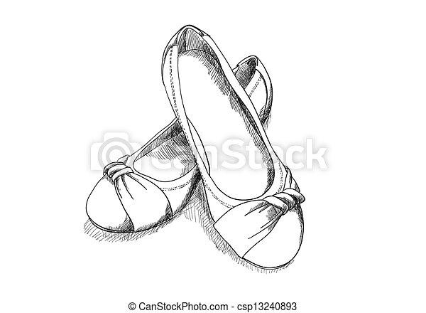 ballerina shoes - csp13240893