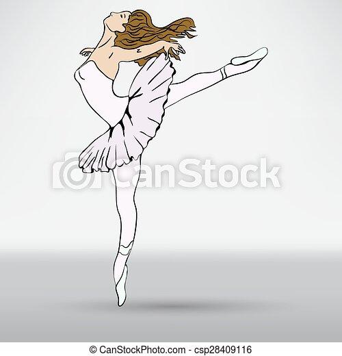 Ballerina - csp28409116