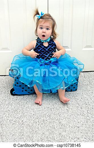 Ballerina...me? - csp10738145