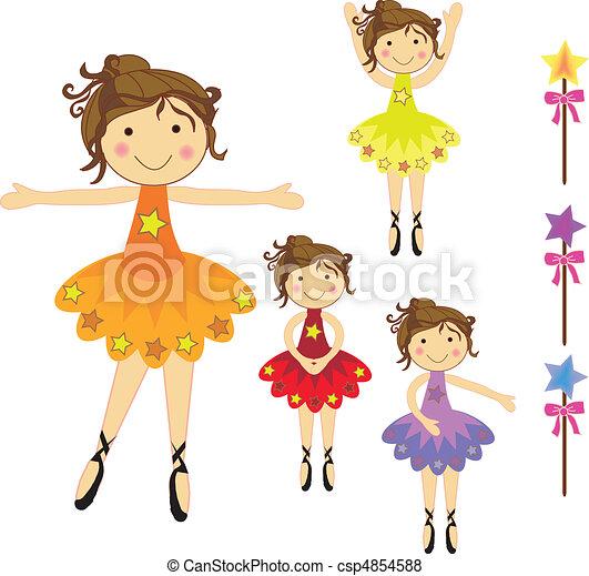 ballerines, danse - csp4854588