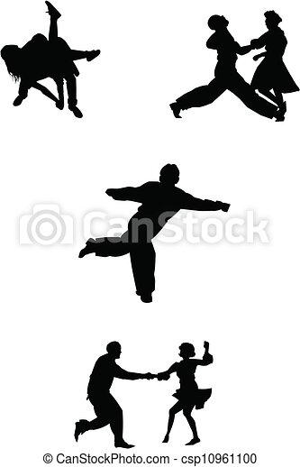 ballerini, anni cinquanta - csp10961100