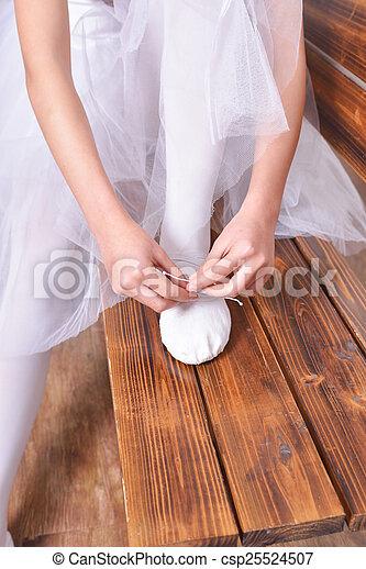 Actriz de ballet - csp25524507