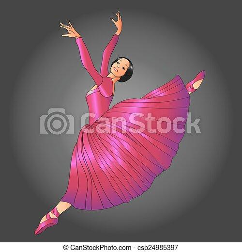 ballet dancer - csp24985397
