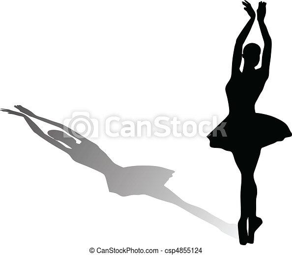 ballet dancer - csp4855124