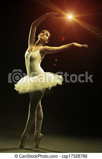Ballet Dancer - csp17328786