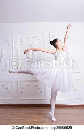 Una actriz de ballet - csp25906629