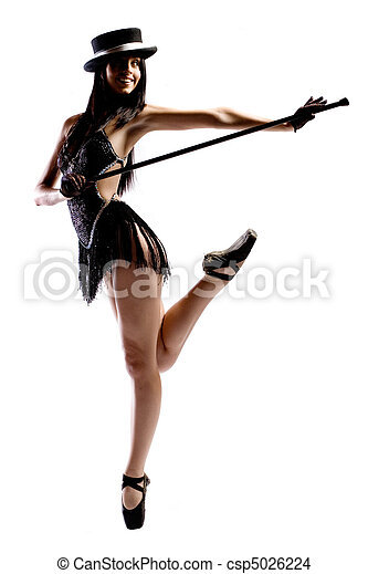Ballet girl - csp5026224