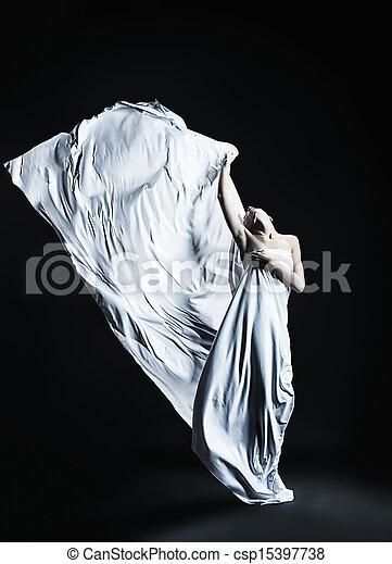 ballet girl - csp15397738