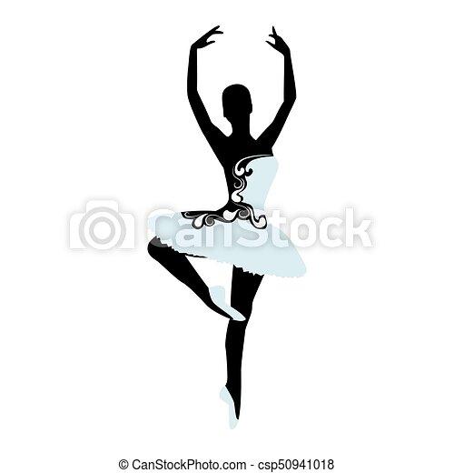 Ballet logo for ballet school dance studio vector vector clip ballet logo for ballet school dance studio vector illustration sciox Choice Image