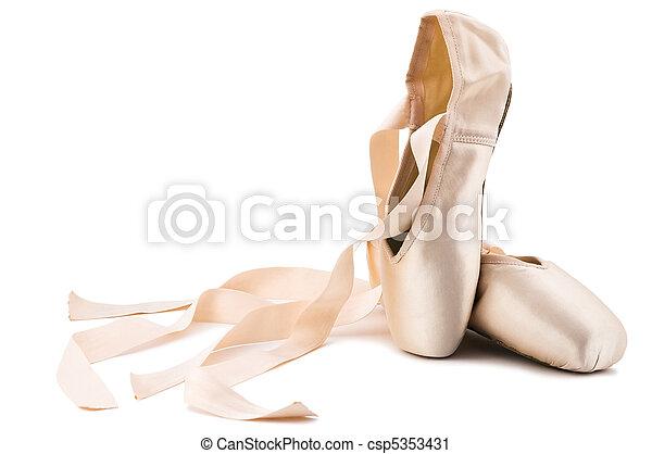 ballet shoes - csp5353431