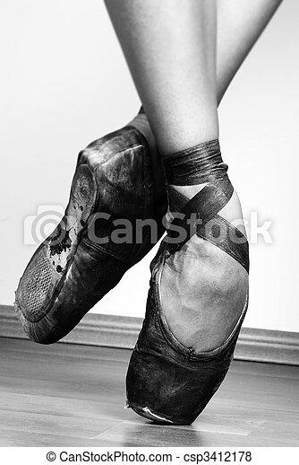 Ballet Shoes - csp3412178
