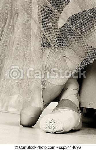 Ballet Shoes - csp3414696