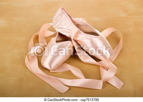 ballet shoes - csp7513799