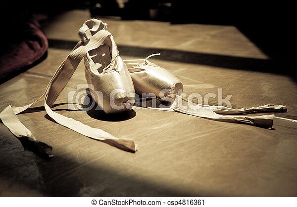 ballet slippers - csp4816361