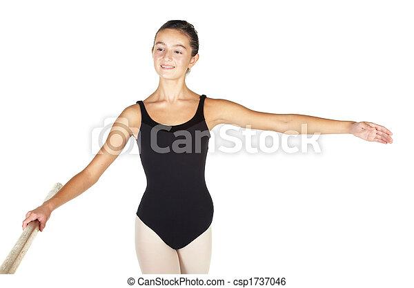 Ballet Steps - csp1737046
