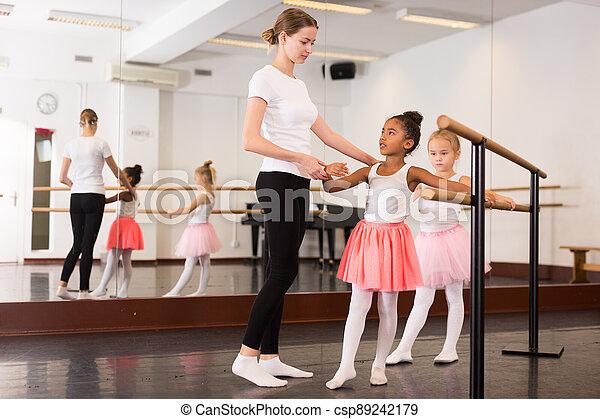 two amateur teens dancing