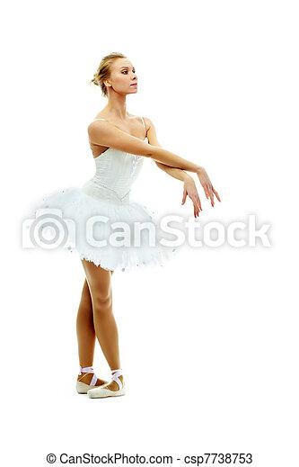 Balletttänzerin - csp7738753