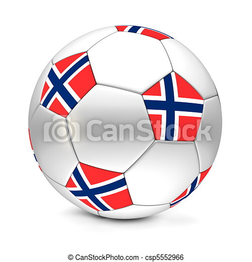 ball/football, futball, norvégia - csp5552966