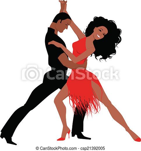 ballo, latino - csp21392005